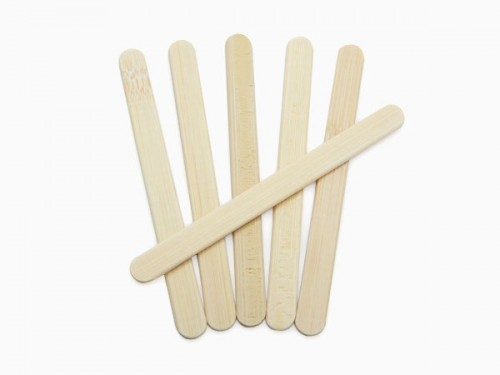 Bamboo Ice Pop Stick
